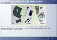Component Identification: Semiconductors